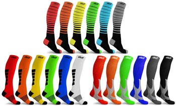 DCF Ultimate Compression Socks for Men and Women (6-Pack)