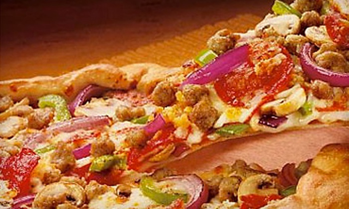 Waterboro House of Pizza - Multiple Locations: Pizza Meal or $10 for $20 Worth of American Fare at Waterboro House of Pizza (Up to 53% Off). Three Options Available.