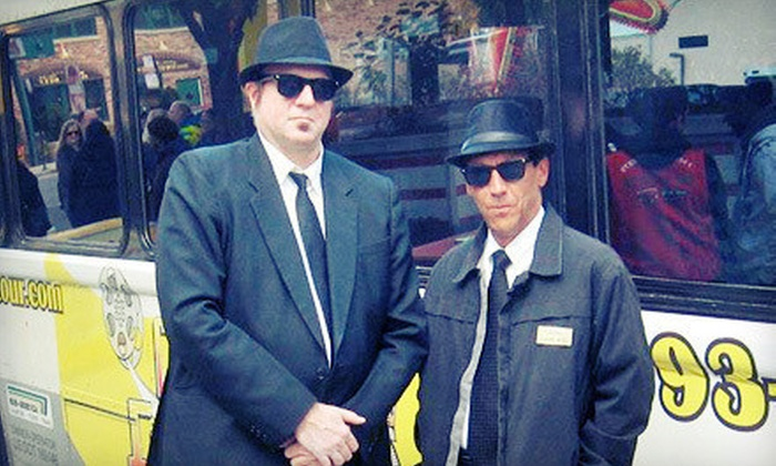 Chicago Film Tour - Near North Side: Signature Film Tour for One or Two or Blues Brothers Experience for One from Chicago Film Tour (Up to 52% Off)