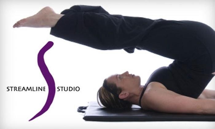 Streamline Pilates Studio - Brooklyn Heights: $20 for Four Mat Classes at Streamline Pilates Studio ($80 value)