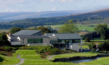 Co. Sligo: 1 or 2 Nights for Two with Breakfast, Spa Treatment, Golf and Late CheckOut at Castle Dargan & Spa