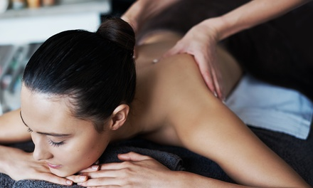 30-Minute Full Body Aromatherapy Massage with Optional Choice of 30-Minute Treatment at Core