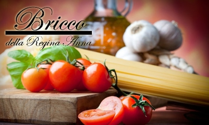 Bricco della Regina Anna - Seattle: $10 for $22 Worth of Boutique Wines and Seasonal Italian Fare at Bricco della Regina Anna