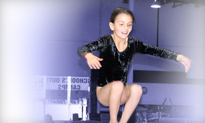 Eagle's Wings Athletics - Allen: $39 for Two Months of Tumbling or Gymnastics Classes at Eagle's Wings Athletics in Allen (Up to $140 Value)