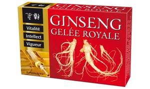 Cure ginseng gelée royale