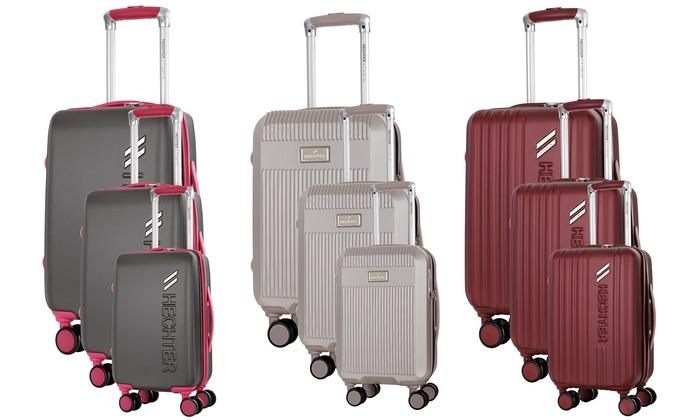 énorme réduction 215fc bb13d Set de valises ABS Hechter Studio | Groupon Shopping