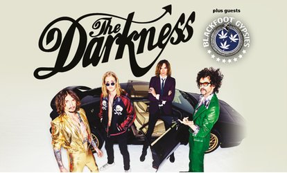 image for The Darkness UK Tour on 24 November - 14 December at Choice of 14 Locations (Up to 50% Off)