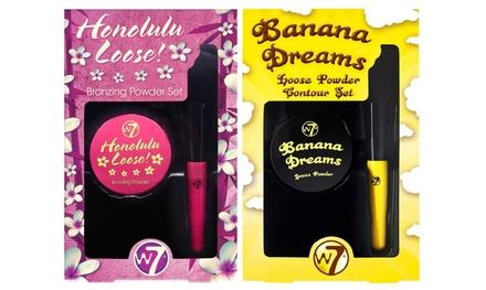 W7 Twinpack mit Honolulu Loose Bronzing & Banana Dreams Contouring Puder (43% sparen*)