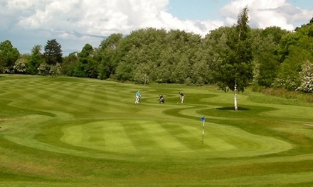 18 Holes of Golf for Up to Four at Newbattle Golf Club