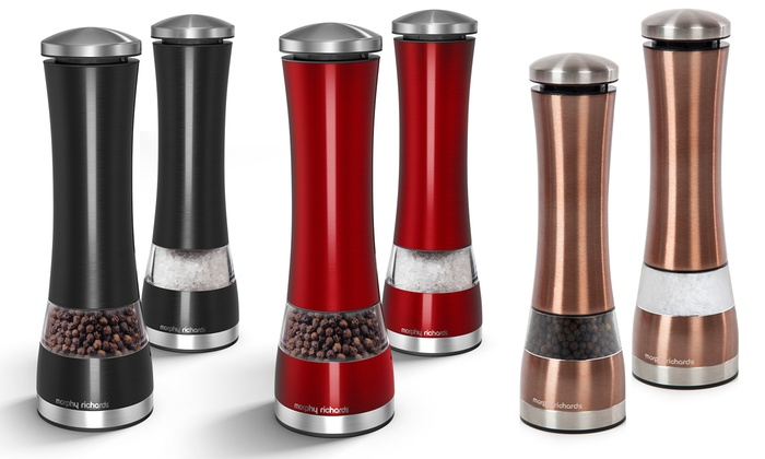 Morphy Richards Electric Salt and Pepper Mill From £15.98