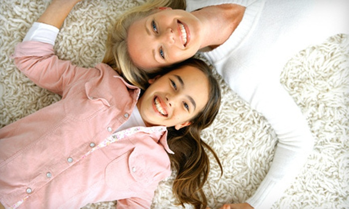 Clean Green - Salt Lake City: Carpet Cleaning for Three or Five Rooms from Clean Green (Up to 53% Off)