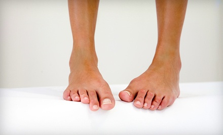Two Laser Nail-Fungus-Removal Treatments for Both Feet (a $350 value) - Universal Laser Center in Miami