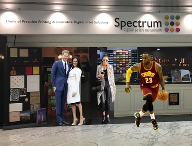 Free Standing Cardboard Cutout, Various Heights Available from Spectrum Dubai (Up to 31% Off)