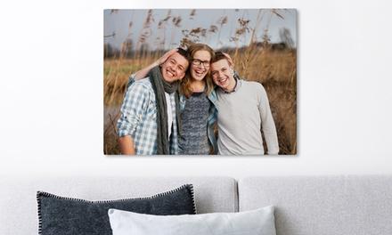 Je eigen foto op canvas op een formaat naar keuze door Fotoproducten