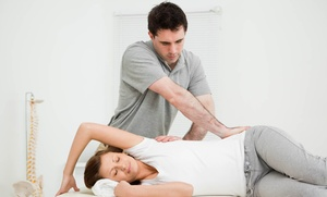 The Balancing Center: Chiropractic Package with Optional Ortho-Bionomy Bodywork Session at The Balancing Center (Up to 70% Off)