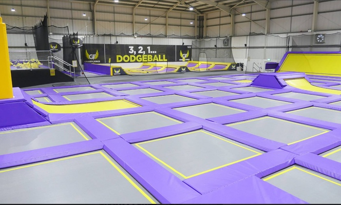 Trampoline Park Access: One- or Two-Hour Session for Up to Four at Gravity Force St Albans (Up to 40% Off)