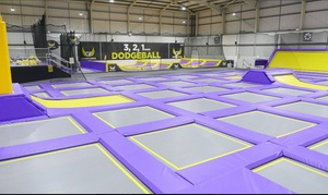 Gravity Force St Albans: Trampoline Park Access: One- or Two-Hour Session for Up to Four at Gravity Force St Albans (Up to 40% Off)
