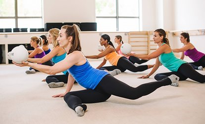 One or Two Months of Unlimited <strong>Ballet</strong>-Barre Classes or Five Classes at The Bar Method (Up to 70% Off)