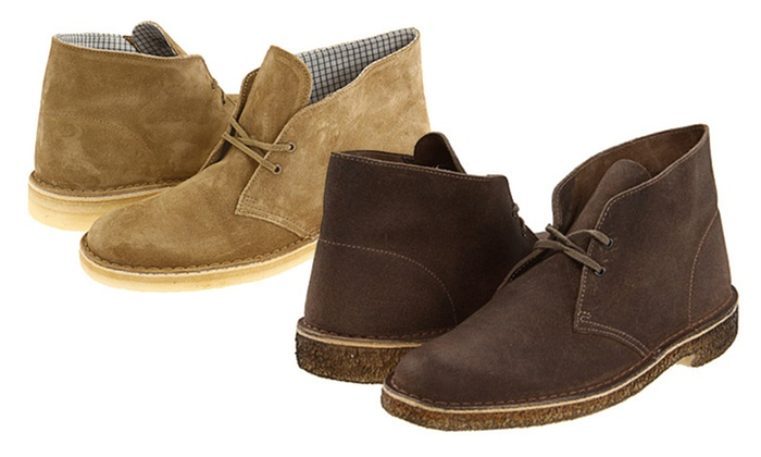 Clarks Men's Desert Chukka Boot (Sizes 7 thru 8.5) | Groupon
