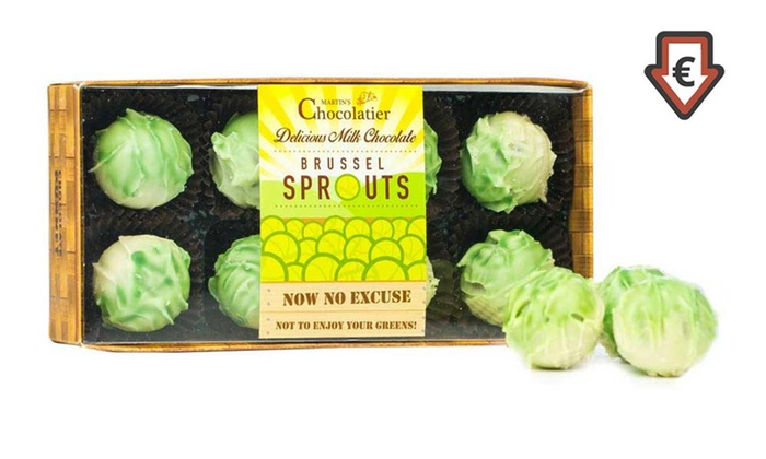 Groupon Goods Global GmbH: 8 Pack of Martin's Chocolatier Truffle Brussel Sprouts from €6.99 (Up to 46% Off)