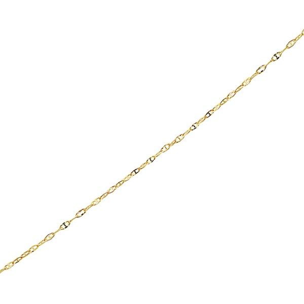 d76c46e6ff5652 Up To 58% Off on 14K Gold Chain Anklet by MORICCI   Groupon Goods