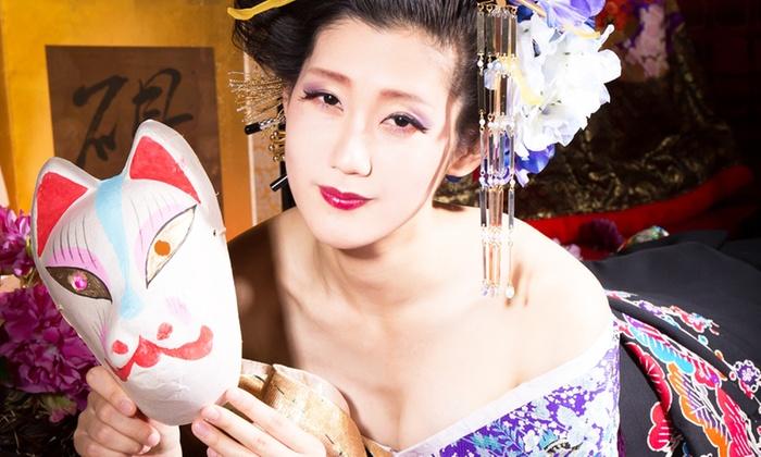 studio NADESHIKO - studio NADESHIKO: 50%OFF【9,000円】あでやかな花魁の姿で、美しい一枚を。着物はクラシックなものから現代モダンまでさまざま≪花魁体験(ヘアメイク+撮影+1データ付)≫ @studio NADESHIKO