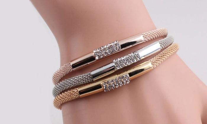 Deal Genie: One (AED 49), Three (AED 99) or Six (AED 159) Triple Charm Bracelets