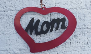 Garden Deva: Mom Heart Mother's Day Sculpture from Garden Deva (40%Off)
