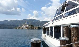 Navigazione Lago D'Orta: Mini-crociera sul lago di una giornata con guida turistica fino a 6 persone con Navigazione Lago d'Orta