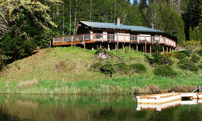 Cabins or RV Site on Oregon's Loon Lake