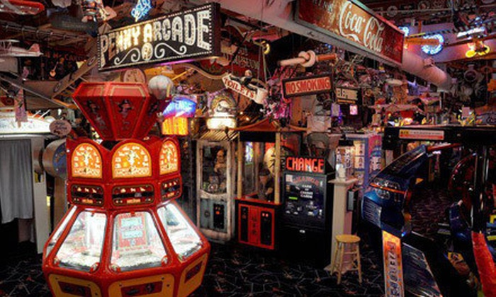 Marvin's Marvelous Mechanical Museum - Farmington Hills: Arcade Outing for 2 or 4 or Party for 10 at Marvin's Marvelous Mechanical Museum (Up to 52% Off)