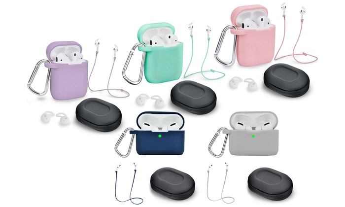 Airpods 1 2 Pro Case Cover And Accessory Pack Led Not Visible