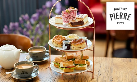 Afternoon Tea or Sparkling Afternoon Tea for Two at Bistrot Pierre, 25 Locations