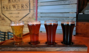Up to 36% Off Beer Tasting at Barn Brewers Brewery at Barn Brewers Brewery, plus 6.0% Cash Back from Ebates.