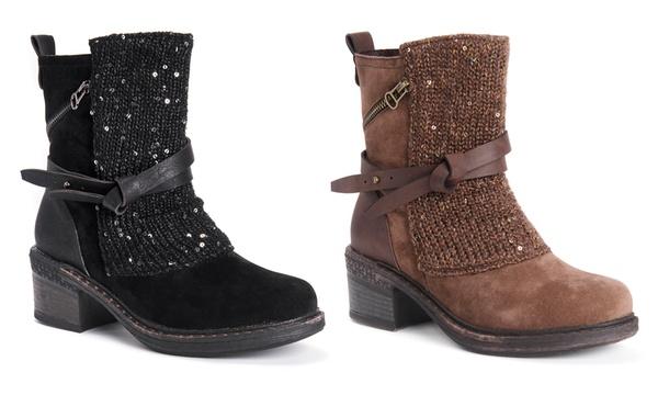 MUK LUKS Women/'s   Sharon Mid Calf Boot