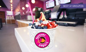 Forever Yogurt - Glenview: Frozen Yogurt and Smoothies at Forever Yogurt (40% Off). Three Options Available.