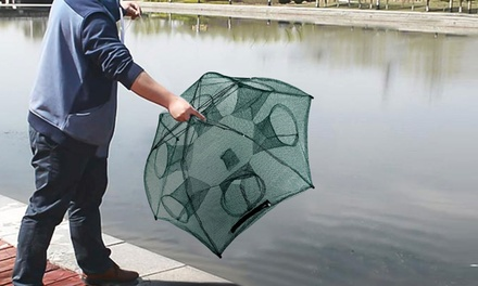 iMounTEK Portable Folding Hexagon Fishing Trap Net