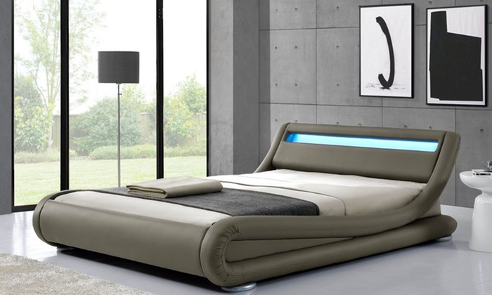 Letto con luci a Led | Groupon Goods