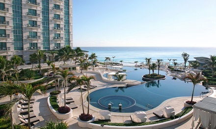 All-Inclusive Stay at Sandos Cancun Lifestyle Resort in Cancun, Mexico, with Dates into December. Airfare not Included.
