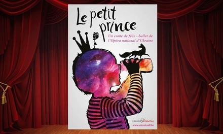 """1 place pour """"Le Petit Prince"""" le 19 novembre 2016 à 15h dès 29,99 € au Cirque Royal"""