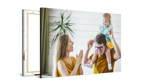 Fotolienzo con imagen personalizable de tamaño a elegir con Photo Gifts (hasta 94% de descuento)