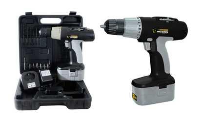Shop Groupon Pro Series 18-Volt Cordless Drill