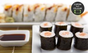 Happiness Sushi: Happiness Sushi - Tijuca: rodízio de japonês + refil de refrigerante para 2 pessoas