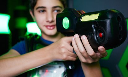 One or Two Laser Tag Games for Up to 12 at Xtreme Laser Tag (Up to 49% Off)