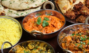 Aachi Indian Cuisine: Multi-Course Indian Meal with Wine for Two ($49) or Four People ($95) at Aachi Indian Cuisine (Up to $220 Value)