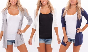 Women's Spring Cardigans (2-Pack) at Women's Spring Cardigans (2-Pack), plus 6.0% Cash Back from Ebates.