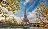 ✈ 8-Day Paris and Barcelona Vacation with Air from go-today