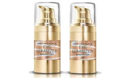 Two Max Factor 15ml Eye Luminizer Light Eye Brighteners