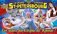 1 place en tribune dhonneur pour lune des représentations du Grand cirque de Saint-Pétersbourg à 10 €, ville au choix
