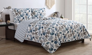 Cleo Reversible Quilt Set (2- or 3-Piece)